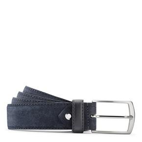 Cintura in suede bata, blu, 953-9115 - 13