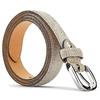 Cintura in vera pelle bata, bianco, 954-1131 - 26