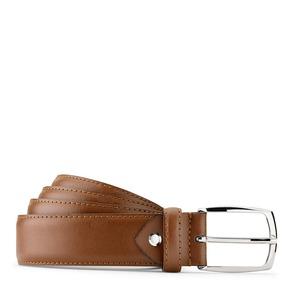 Cintura in vera pelle bata, marrone, 954-3132 - 13