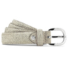 Cintura in vera pelle bata, bianco, 954-1131 - 13