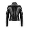 Biker in similpelle da donna bata, nero, 971-6198 - 26