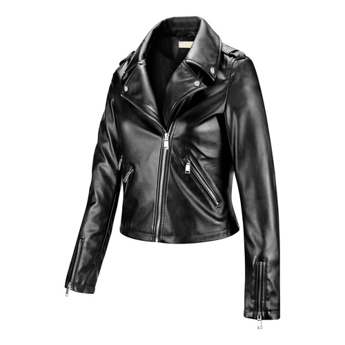 Biker in similpelle da donna bata, nero, 971-6198 - 16