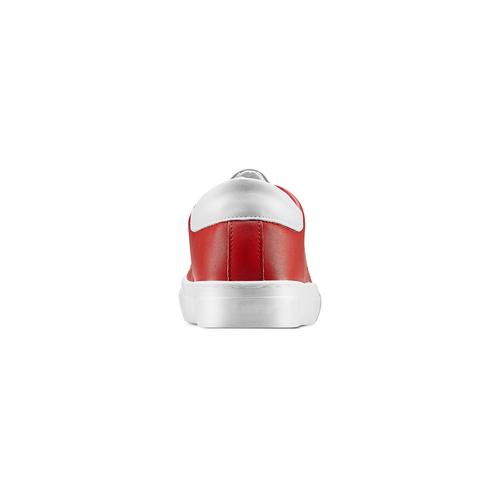 Sneakers con stella bata, rosso, 541-5376 - 15