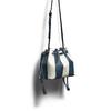 Borsa a secchiello bata, blu, 961-9390 - 17