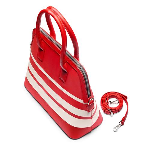 Borsa a spalla da donna bata, rosso, 961-5387 - 17
