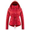 Parka da donna con cappuccio bata, rosso, 979-5109 - 13