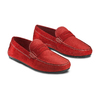Mocassini in pelle bata, rosso, 853-5180 - 16