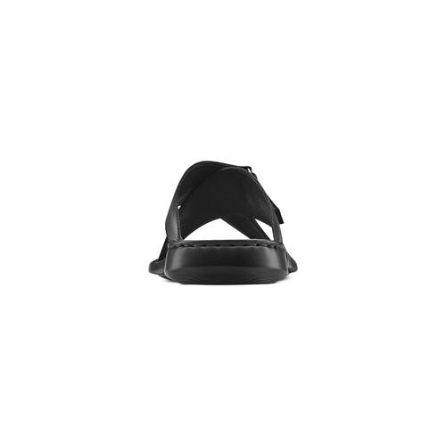 Ciabatte da uomo bata-comfit, nero, 874-6265 - 15