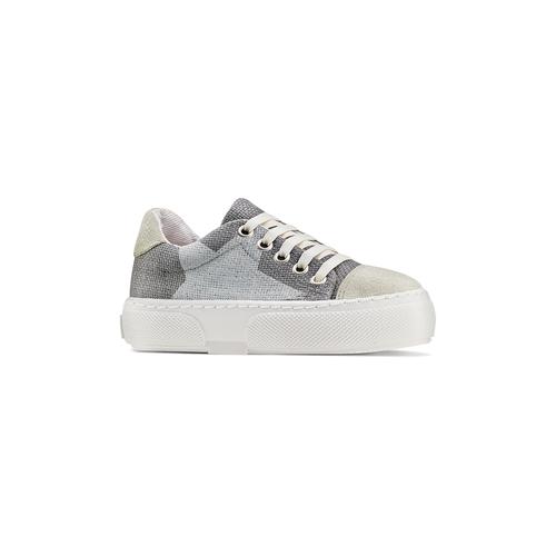 Sneakers con lacci elastici mini-b, grigio, 219-2194 - 13