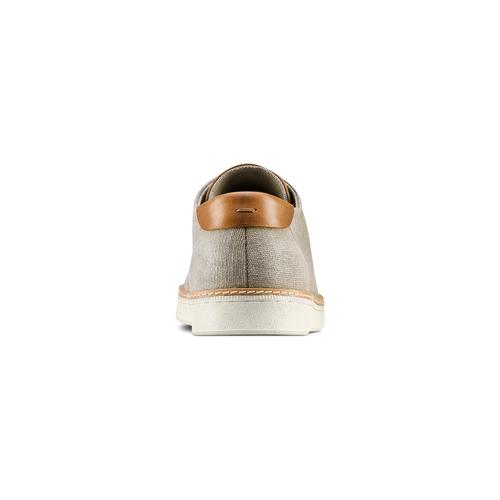 Sneakers casual  bata, grigio, 849-2346 - 15