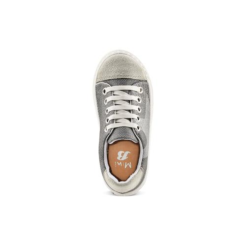 Sneakers con lacci elastici mini-b, grigio, 219-2194 - 17