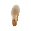 Sandali in pelle  bata, marrone, 764-3161 - 19