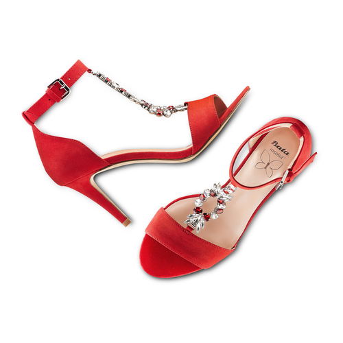 Sandali Celine insolia, rosso, 769-5154 - 26