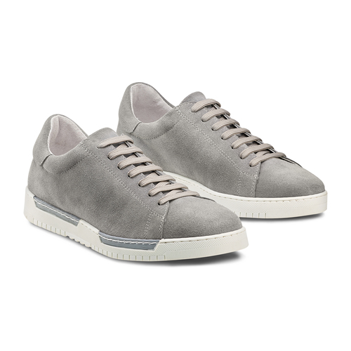 Sneakers in suede bata, 843-2354 - 16
