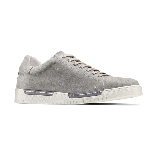 Sneakers in suede bata, 843-2354 - 13