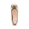 Ballerine da donna bata, oro, 524-8254 - 17