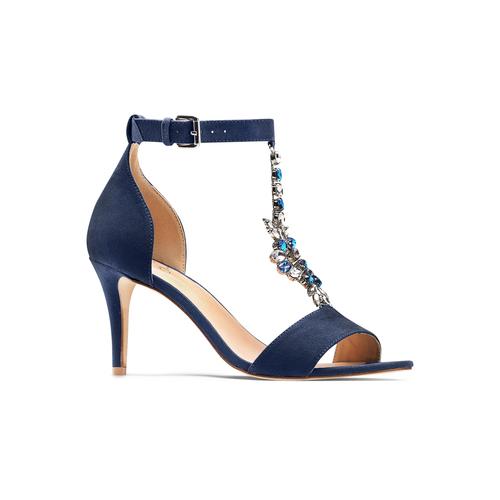 Sandali Celine  insolia, blu, 769-9154 - 13