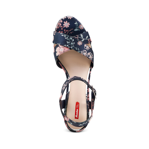 Sandali con inserti floreali bata-rl, rosa, 769-5328 - 17