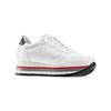 Sneakers Platform bata, bianco, 644-1102 - 13