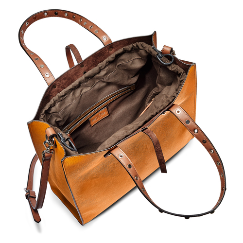 Shopper rigida bata, marrone, 961-3296 - 16