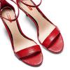 Sandali con tacco alto bata-rl, rosso, 761-5335 - 26