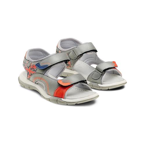 Sandali da bimbo mini-b, grigio, 361-2239 - 16