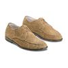 Stringate in pelle bata, marrone, beige, 853-2160 - 16