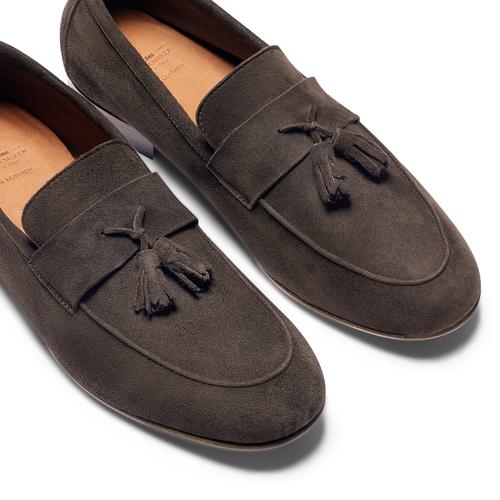 Mocassini con nappa bata-the-shoemaker, marrone, 853-4140 - 26