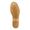 Mocassini in suede bata, beige, 853-8143 - 19