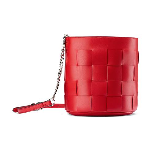 Borsa a secchiello bata, rosso, 961-5233 - 13