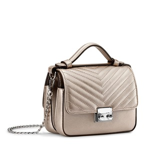 Minibag in similpelle bata, bianco, 961-1277 - 13