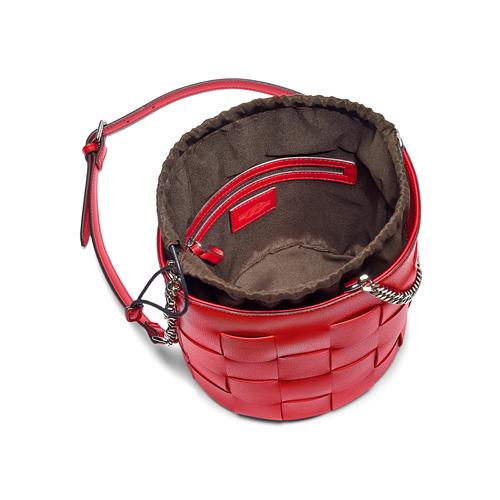 Borsa a secchiello bata, rosso, 961-5233 - 16