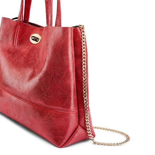 Borsa a spalla bata, rosso, 964-5357 - 15
