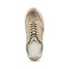 Sneakers Casual bata, beige, 523-8459 - 17