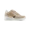 Sneakers Casual bata, beige, 523-8459 - 13