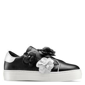 Sneakers senza lacci bata, nero, 544-6374 - 13