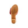 Ciabatte con tacco bata-touch-me, rosso, 664-5303 - 19