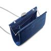 Pochette con tracolla bata, blu, 969-9320 - 16
