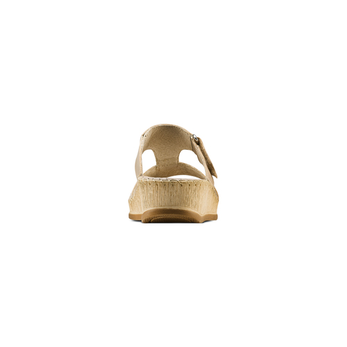 Ciabatte Comfit bata-comfit, beige, 574-3438 - 15