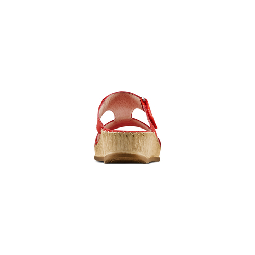 Ciabatte Comfit bata-comfit, rosso, 574-5438 - 15