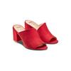 Mules con tacco insolia, rosso, 769-5277 - 16