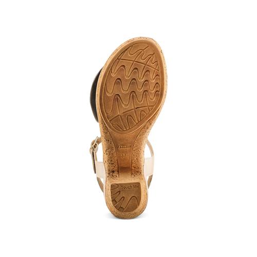 Sandali con fiocco bata-touch-me, beige, 664-2302 - 19
