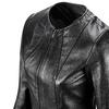 Giacca in pelle bata, nero, 974-6105 - 15