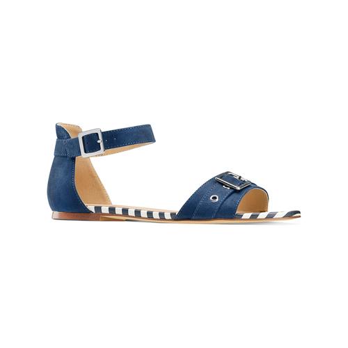 Sandali da donna insolia, blu, 569-9277 - 13