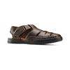Sandali da uomo bata-comfit, marrone, 864-4126 - 13