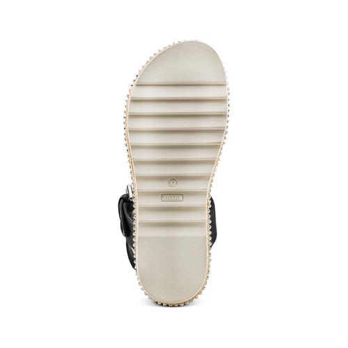 Sandali bassi bata, bianco, 561-1361 - 19