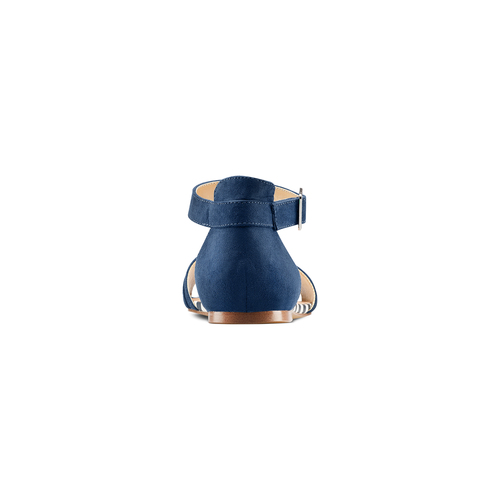 Sandali da donna insolia, blu, 569-9277 - 15