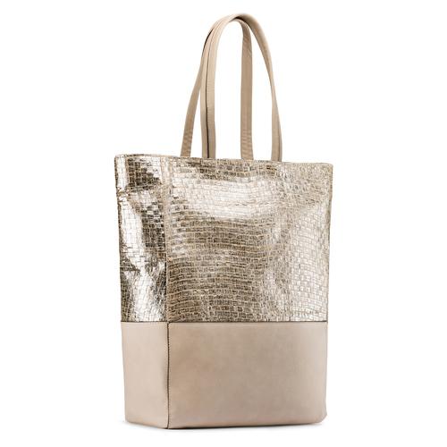 Shopper da donna bata, oro, 969-1214 - 13