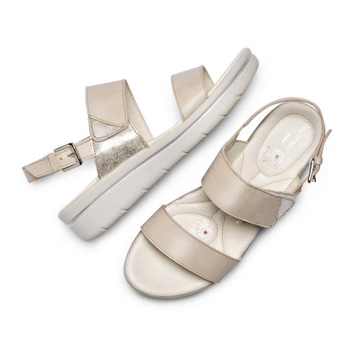 Sandali Casual bata-touch-me, beige, 564-8344 - 26