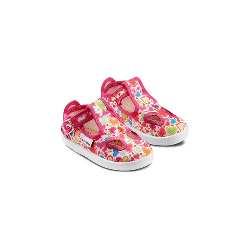 Sandali stampati Superga superga, rosa, 169-5132 - 16